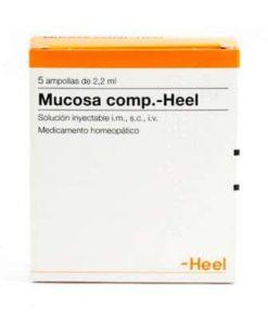 MUCOSA COMPOSITUM 5 AMPOLLAS HEEL