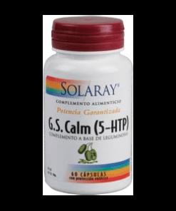 G.S. CALM 60 Cápsulas Solaray