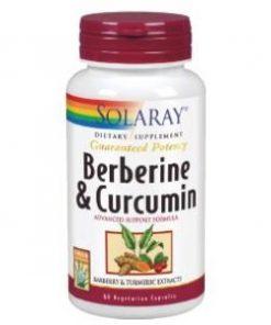 BERBERINE & CURCUMA 600 MG 60 Cápsulas Solaray
