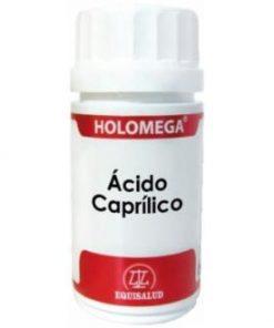 HOLOMEGA ÁCIDO CAPRÍLICO 50 CÁPSULAS Equisalud