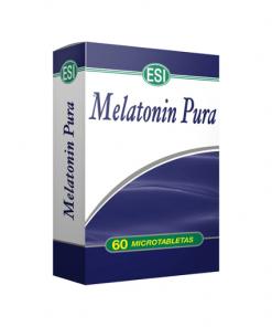 Melatonina Pura 1 mg 60 tabletas. Ayuda a conciliar el sueño.